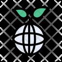 Green World Plant Icon