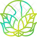 Environment Globe Green Icon