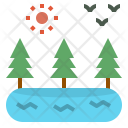 Environment Ecology Interaction Icon