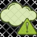 Environment Alert Cloud Alert Cloud Warning Icon