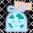 Pollution Plastic Bag Icon