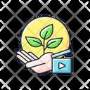 Environmental Awareness Green Icon