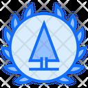 Environmental Badge Tree Badge Tree Icon