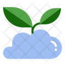 Environmental Friendly Cloud Icon