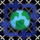 Environmental Friendly Climate Change Eco Friendly Icon