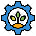 Ecology Environment Gear Icon