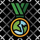 Environmental Medal Icon