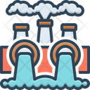 Environmental Pollution Power Thermal Icon