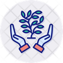 Environmental Protection Care Hand Icon