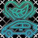 Environmentally Friendly Ev Electric Vehicle Icon