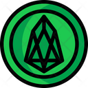 Eos Eos Coin Digital Money Icon
