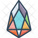 Eos Coin Crypto Currency Icon