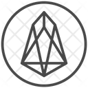Eos Trading Coin Icon