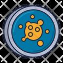 Epidemiology Bacteria Virus Icon