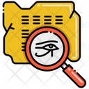Epigraphy Archaeological Archaeology Icon