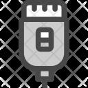 Epilating Machine Equipment Icon