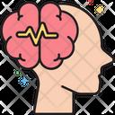 Mepilepsy Epilepsy Brain Icon