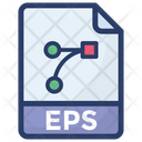 Eps File Eps Document File Extension Icon