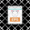 Eps File Vector Icon