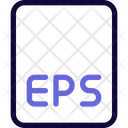 Eps File Eps File Format Icon