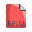 Epub Document File Icon