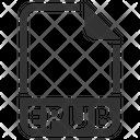 Epub Document File Icon