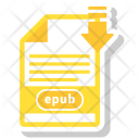 Epub File Icon