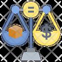 Equal Fair Money Icon