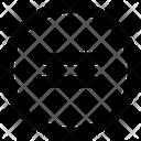 Equal Calculator Symbols Icon