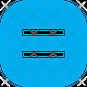 Equal Button Square Icon