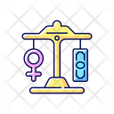 Equal Pay Icon