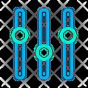 Adjuster Equaliser Equalizer Icon
