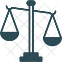 Equality Judiciary Symbol Justice Scale Icon