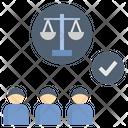 Legitimacy Authenticity Justice Icon