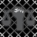 Civil Rights Scale Icon