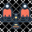 Equality Similarity Parity Icon