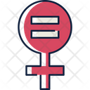 Equality Gender Girl Icon