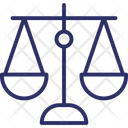 Equality In Business Balance Justice Scale Icon