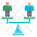 Equality Scale Icon