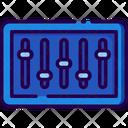 Equalizer Mixer Adjusment Icon