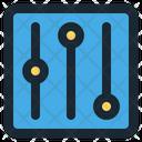 Equalizer Audio Electronic Icon