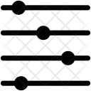 Horizontal Electromagnetic Waves Icon