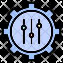 Setting Cog Setup Icon
