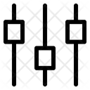 Panel Web App Equalizer Icon