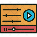 Equalizer Music Levels Sound Frequency Icon