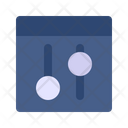 Equalizer Audio Filter Icon