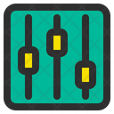 Equalizer Music Mixer Icon