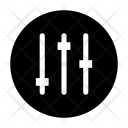 Equalizer Setting Music Icon