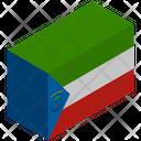 Flag Country Equatorial Guinea Icon