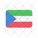 Equatorial Guinea Flag Country Icon